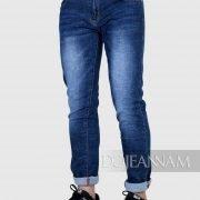 Quần jean nam đẹp màu xanh jean