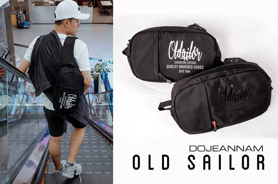 Túi đeo chéo ngực nam design Old Sailor