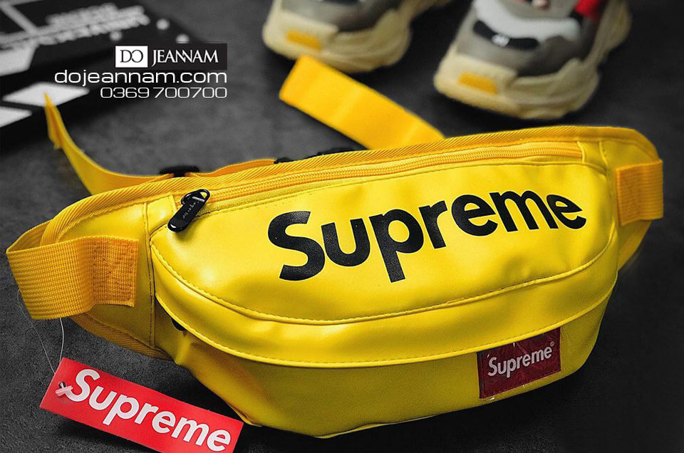 Túi đeo chéo nam Supreme Da PU