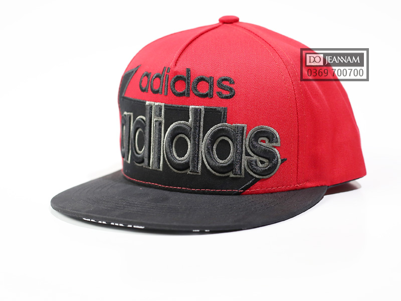 Mũ Snapback Adidas đỏ VNXK