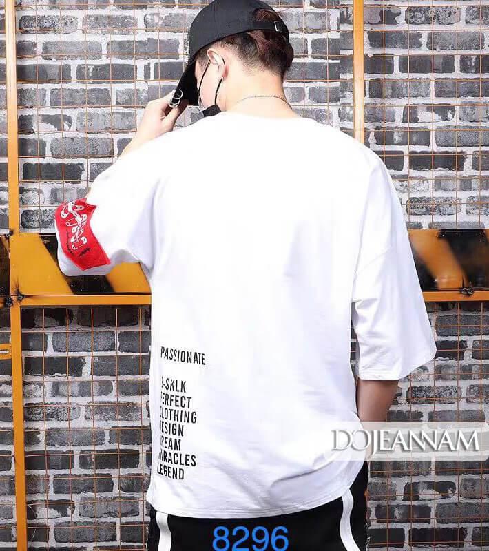 T shirt Oversize Longtee White
