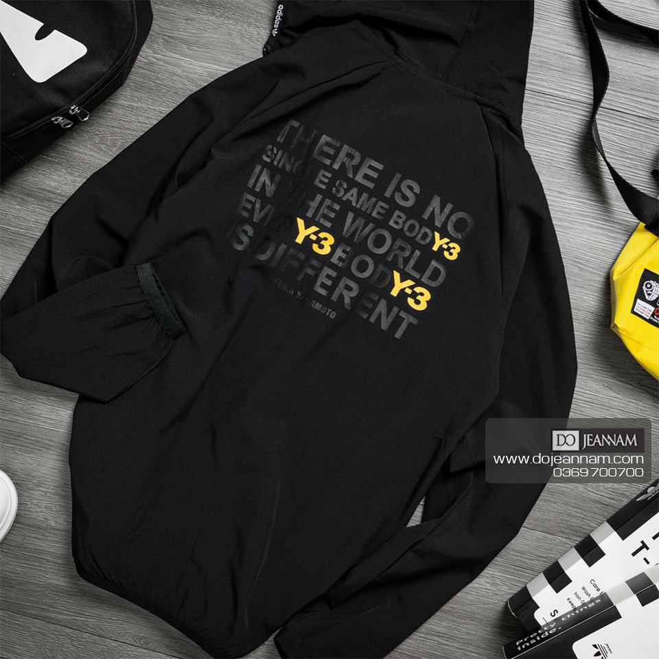 Áo Khoác Nam Đen Adidas