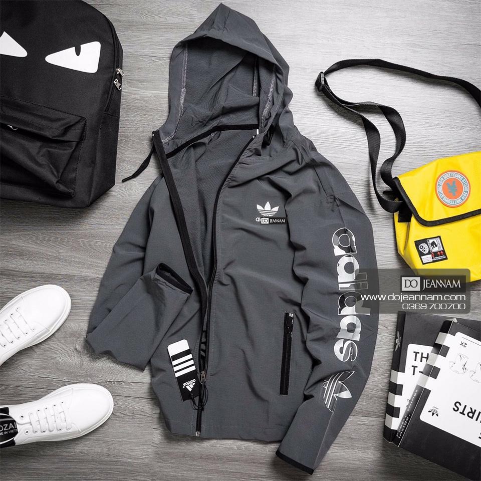 Áo Khoác Nam Xám Adidas New 2020