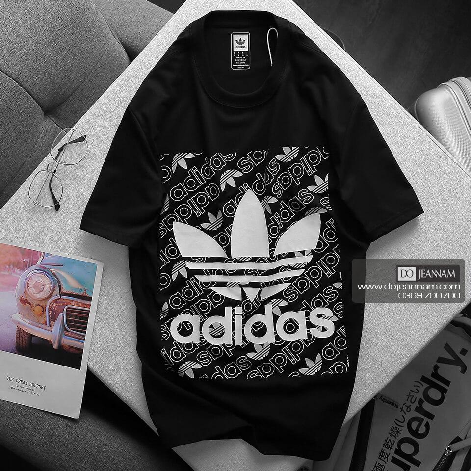 Áo Phông Nam Đen Adidas 2020