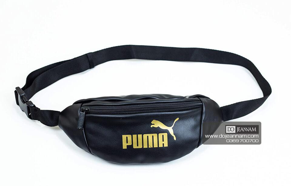 Túi Đeo Chéo Da Nam Puma