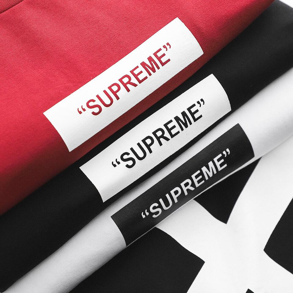 Áo Thun Nam Đỏ Supreme